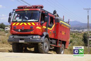 Fotografía referencial. Carro bomberos Forestal 3000, Villa Alemana.