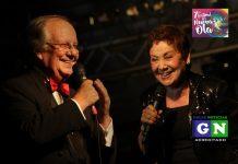 Gemán Casa y Gloria Benavides se presentaron el día de la inauguración del festival.