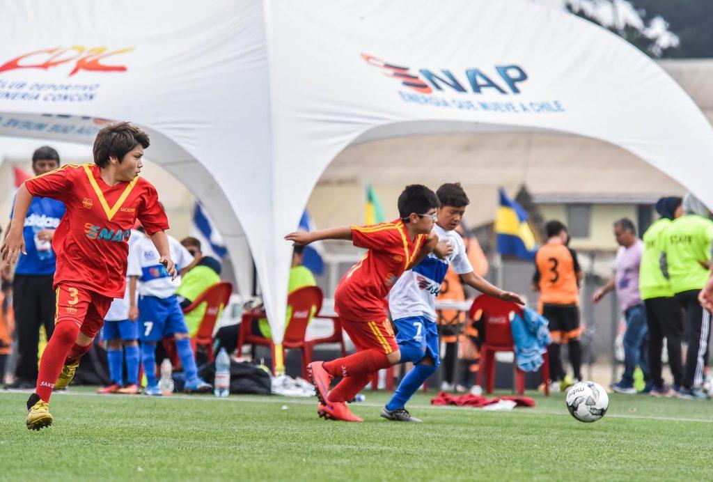 Con la entusiasta participación de 150 niños, se realizó el 2° Campeonato de Fútbol Infantil Copa ENAP Refinerías.
