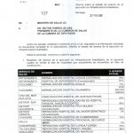 Informe del Ministro de Salud a la Comisión de Salud de la Cámara de Diputados.