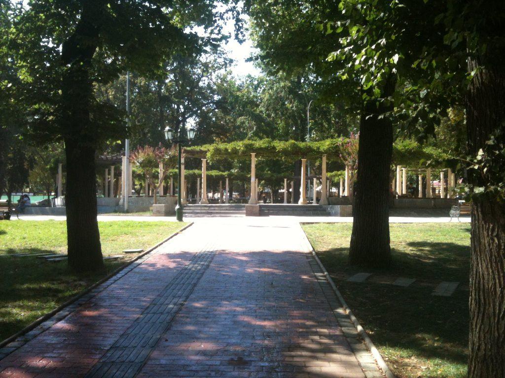 Parque Brasil, Limache - Pérgola.