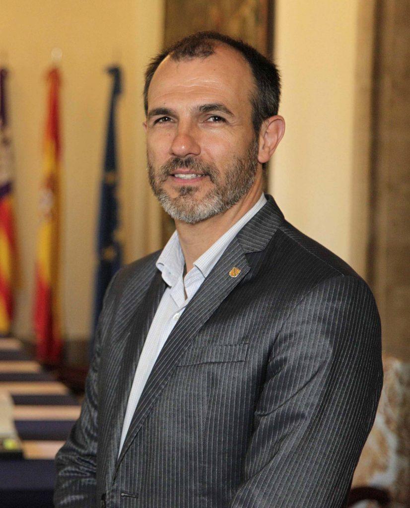 Biel Barceló,. Vicepresidente y conseller de Innovación, Investigación y Turismo, España.