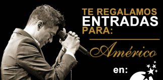 Portada Américo en Enjoy Viña. / Fotografía: Instagram americooficial Minga Records. Editada por Golpe Noticias.