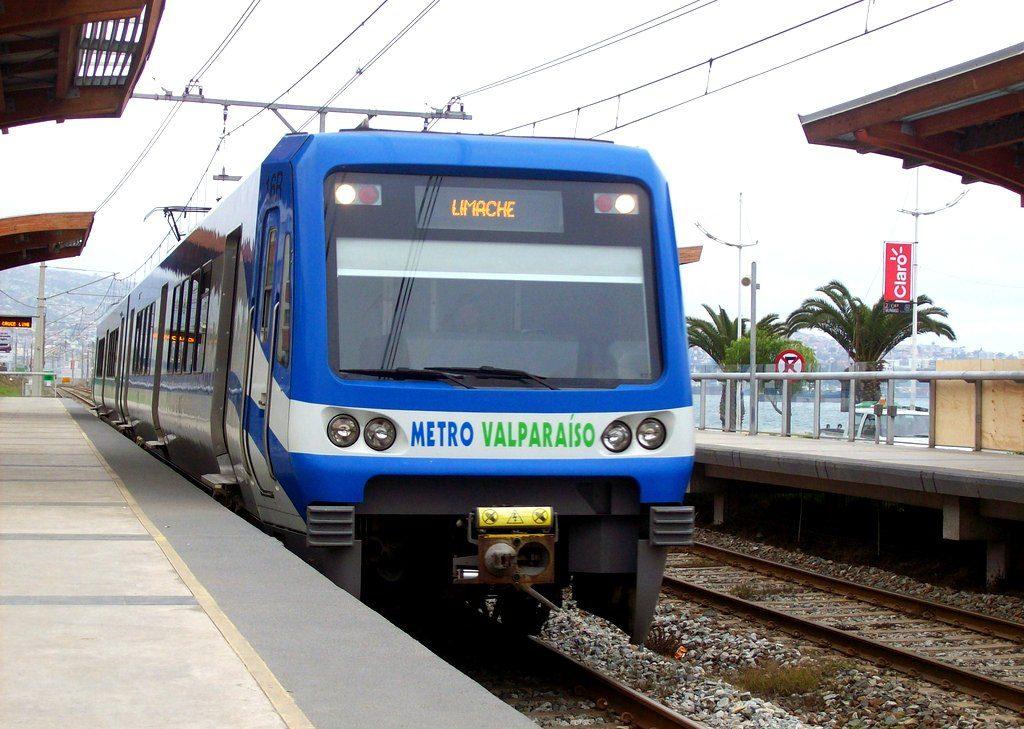 En estación Portales. Merval Metro Valparaíso. / Fotografía bajo licencia Wikimedia Commons.