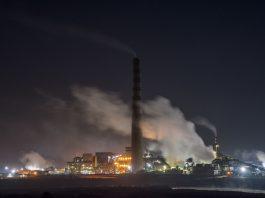 Termoeléctrica en la playa de Ventanas, en la comuna de Puchuncaví, región de Valparaíso, Chile. / Fotografía: proporcionada por Greenpeace.